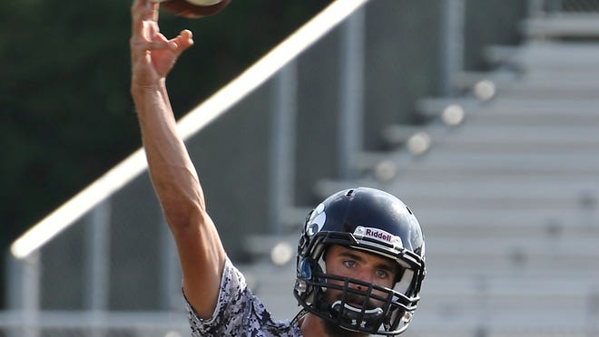 North Buncombe junior Chase Parker continues to lead Western North Carolina football in passing yardage.