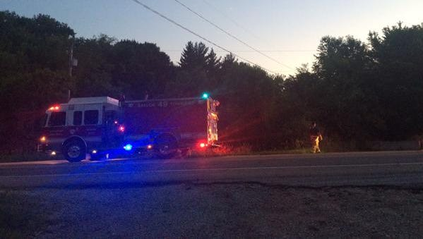 Emergency personnel were called to 4300 block of Northwest Morningstar Drive on report of man in river at about 8:30 p.m. Monday.