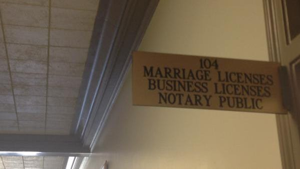 An office in the Madison County Courthouse will need to update its software to issue marriage licenses to gay couples.