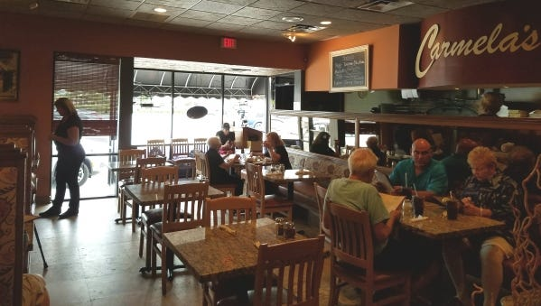 Carmela's Brick Oven Pizza and Wine Bar at 311 S.E. Ocean Blvd in Stuart has a two-course meal for $14 from 3 to 6 p.m. Monday through Thursday.