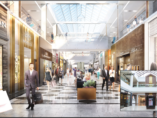 A rendering of the renovated luxury wing at Scottsdale