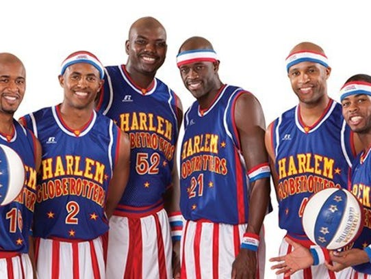 The Harlem Globetrotters will be at the Palace on Friday.