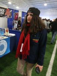Kayla Burachowski, organizer of the Hudson Valley Comic