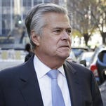 New York Sen. Dean Skelos arrives to court in New York, Tuesday, Nov. 17, 2015. Jury selection is expected to continue Tuesday in the corruption trial of Skelos, who is facing federal charges that he extorted bribes from companies with business before the state.