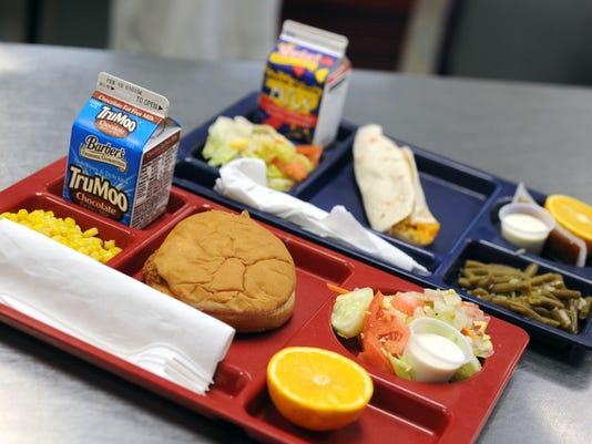 school lunch 8