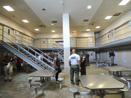 Hinds County Detention Center common area
