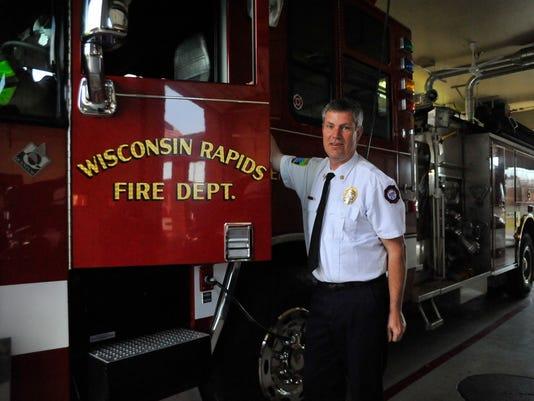 Wisconsin Rapids fire chief