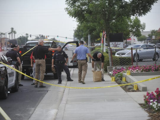 Visalia police are investigating a possible homicide in the 1600 block of South Mooney Boulevard.