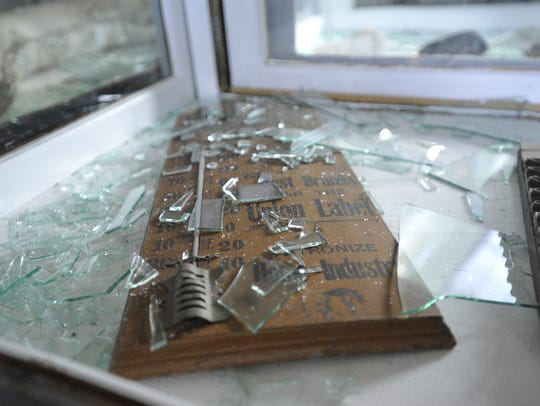 Vandals caused more than $5,000 in damages to the Tulare