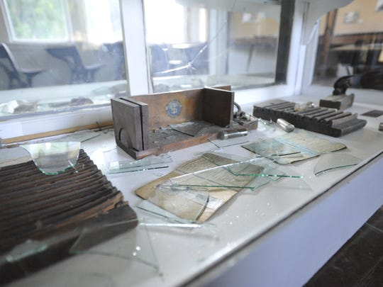 Vandals caused more than $5,000 in damages to the Tulare County Museum.