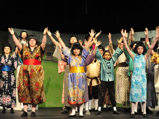 Disney's Mulan Jr. will be performed by 30 children at the Mansfield Playhouse.