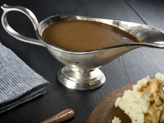 Thanksgiving gravy: Shiitake Mushroom and Brandy Gravy