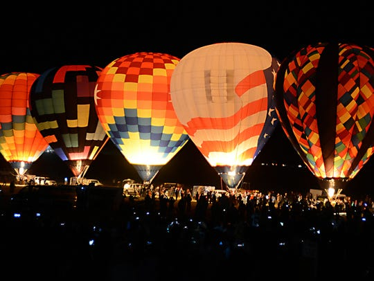 Dawn Patrol at Saturday's Great Reno Balloon Race.