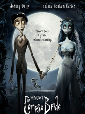 """Tim Burton's 2005 animated film """"Corpse Bride"""" is one movie you might want to check out on Halloween night. The film features the voices of Johnny Depp, Emily Watson and Helena Bonham Carter."""