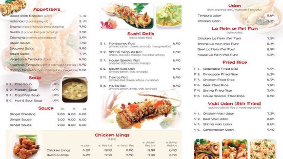 The Masa menu features a mix of Japanese and Chinese