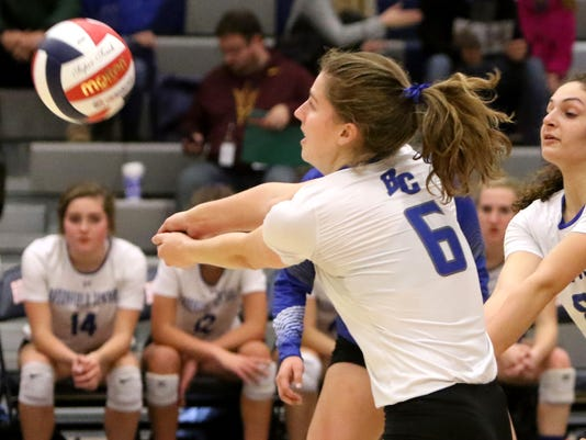 Brookfield Central Girls Volleyball vs Divine Savior Holy Angels