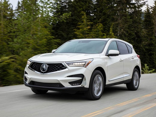 Acura RDX Review Price Power Drive SUV Forward - 2018 acura rdx roof rails