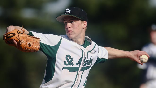 Left-hander Andrew Reich helped St. Mark's finish the regular season 16-2 and earn the top seed in the DIAA Baseball Tournament.