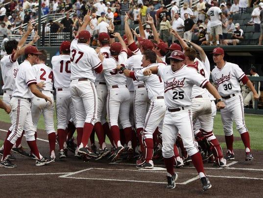 6-7-14 Stanford Vanderbilt Baseball