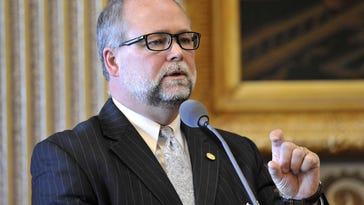 Michigan Senate Majority Leader Arlan Meekhof confirmed Thursday that his Republican caucus opposes the plan to require lower lead levels in water systems.