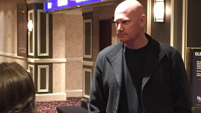 Matt Williams spoke at the Reno Aces luncheon on Monday.