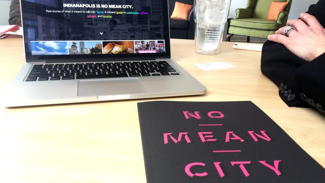 The website www.nomeancity.com and the hard copy book by the same name were released Thursday.