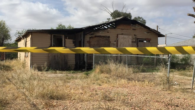 A fire was reported about 3:30 a.m. March 29, 2016, at a vacant house near Central Avenue and Mountain View Drive in Avondale.