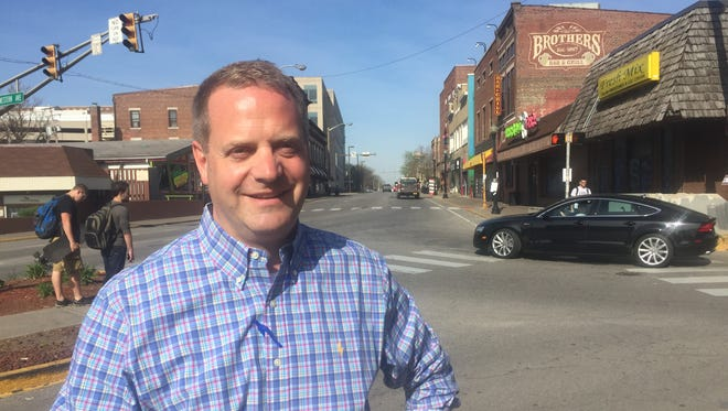 Chandler Poole is leaving the city after eight years as West Lafayette development director.