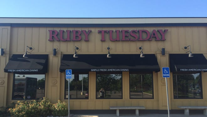 The Fort Collins Ruby Tuesday location closed in August. The nationwide chain announced plans to close 95 of its 724 restaurants.