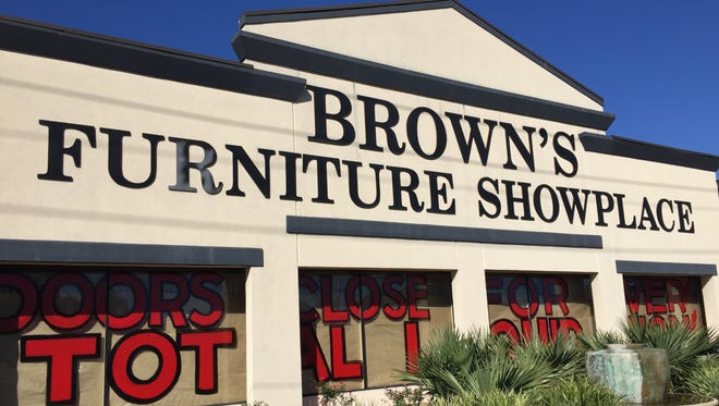 Brown's Furniture on Johnston Street in Lafayette is closing.