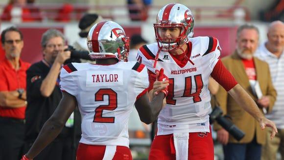 Western Kentucky Hilltoppers wide receiver Taywan Taylor