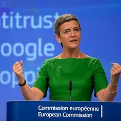 President Trump criticizes EU's record $5B fine of Google. Could such a fine  happen here?