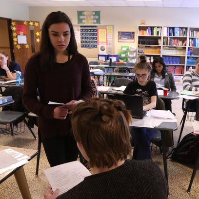 High school students learn to debate without shouting