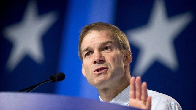 Rep. Jim Jordan, R-Urbana, spoke about when President Donald Trump called him after the death of Jordan's nephew during his recorded remarks broadcast as part of the Republican National Convention on Monday night.