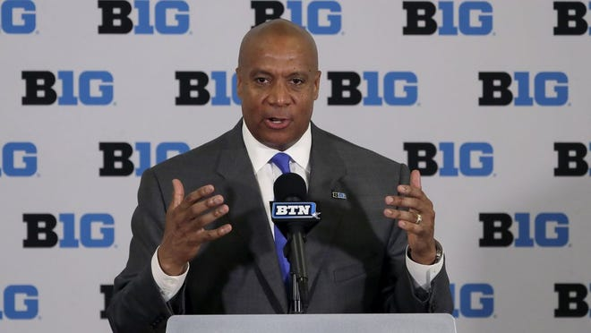 Big Ten commissioner Kevin Warren.