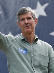 Democratic gubernatorial candidate Fred Hubbell, Sept.