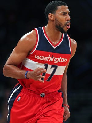 Wizards guard Garrett Temple has had a banner shooting year.