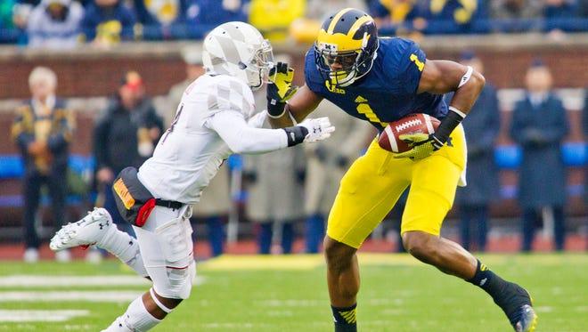 Michigan wide receiver Devin Funchess.