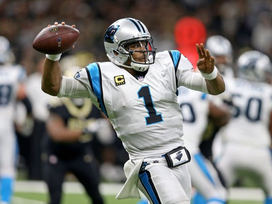 USP NFL: CAROLINA PANTHERS AT NEW ORLEANS SAINTS S FBN NO CAR USA LA