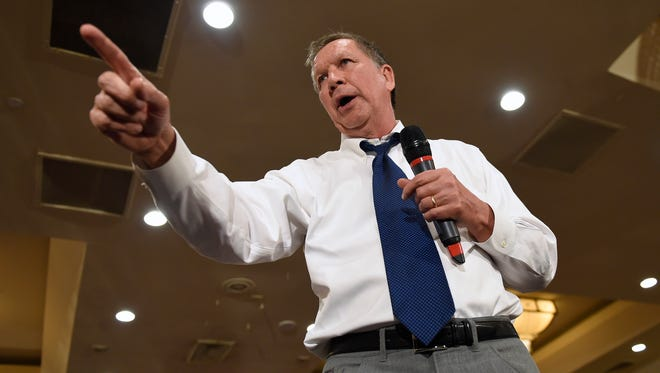 Republican presidential candidate John Kasich is backing away from Indiana ahead of the May 3 primary in an effort to help Sen. Ted Cruz's attempt to beat frontrunner Donald Trump.