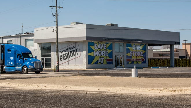 The old Moran Chevrolet building in Fort Gratiot, 4281 24th Ave., will be razed to build a new strip mall.