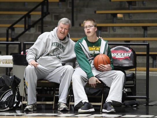 Former University of Vermont men's basketball coach