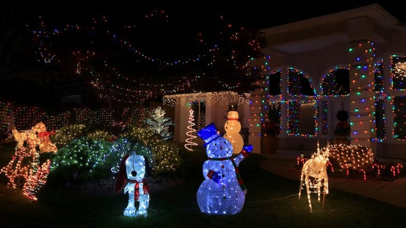 If you visit the musical display on south Jacob Drive in Santa Clara, make sure to look across the street at this home.