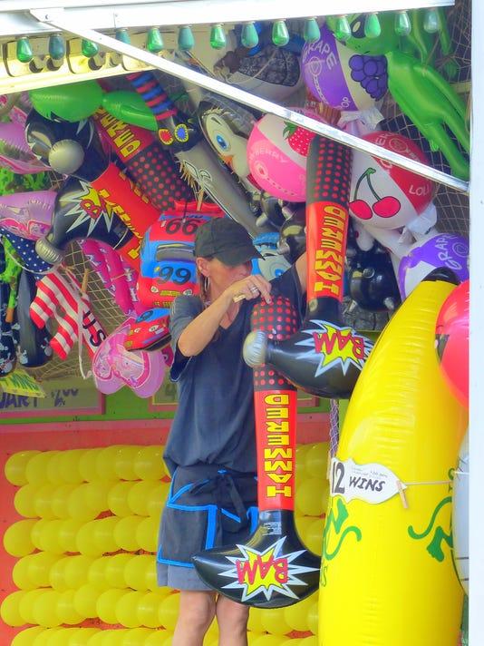 preparing carnival