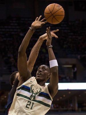 Bucks guard Tony Snell has struggled in recent games.