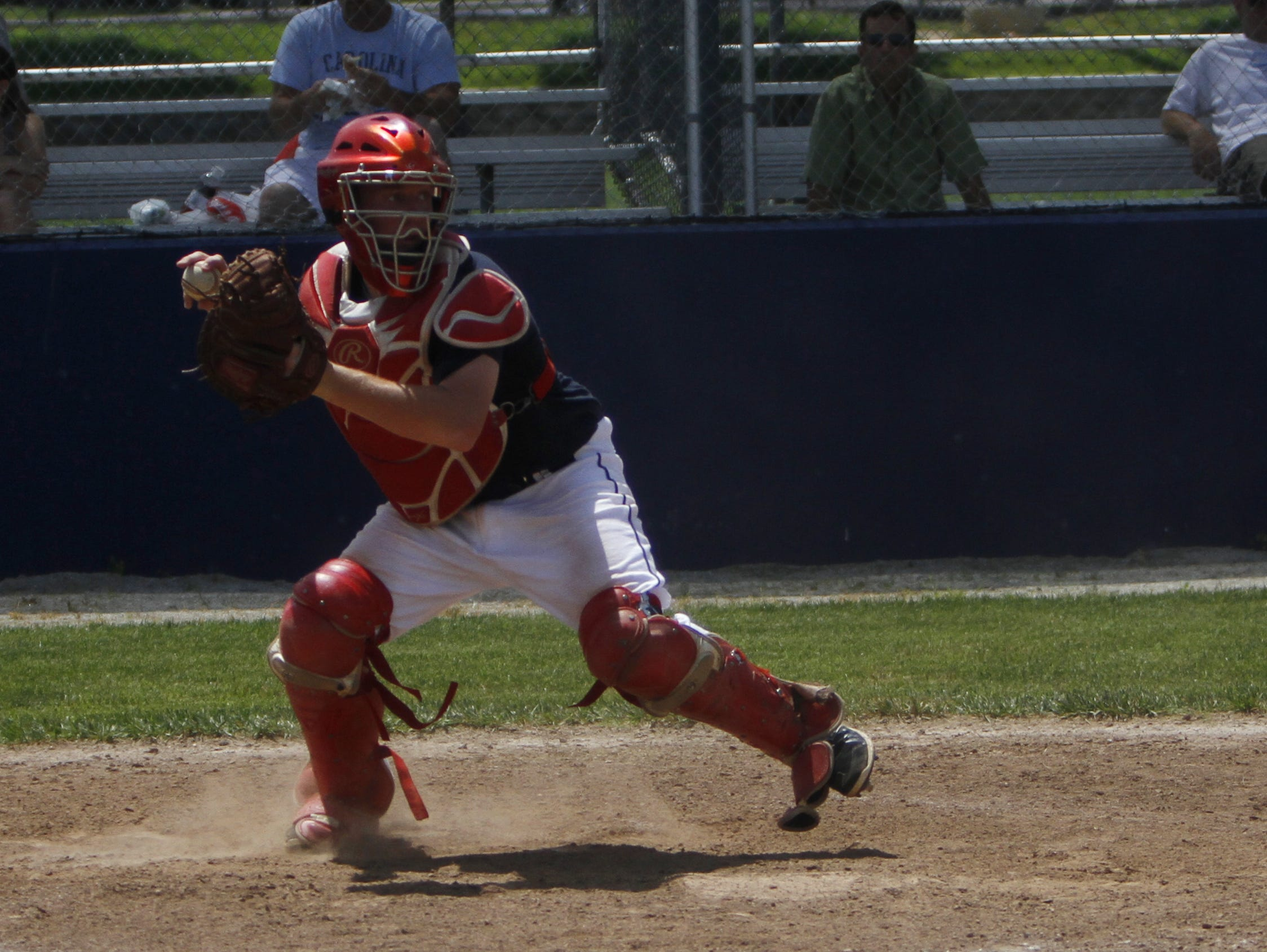 Nixa catcher Hayden Crabtree will help guide the Eagles' pitching staff in the spring of 2016.