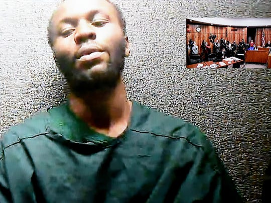 Gerry Thomas, 28, appeared via videoconference for his first appearance before Judge Joseph Perconti on Tuesday.