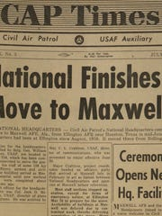 National Headquarters' move to Maxwell understandably led off the July 1967 issue of the organization's monthly newspaper