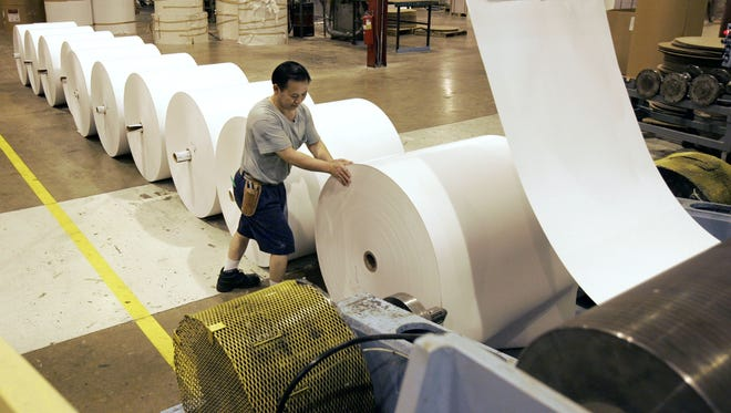 U.S. Paper Converters has operated in Grand Chute for more than three decades.