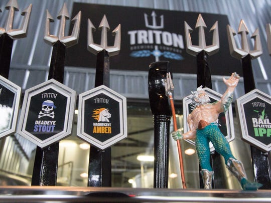 Triton Brewing Company opened in Lawrence in 2011.